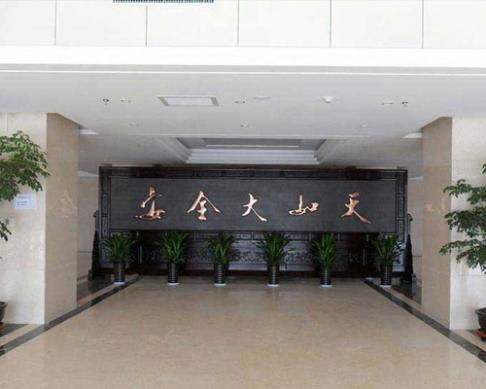 郑州机务段定制的7.38x2.6米安全大如天,清明上河图屏风