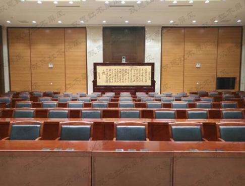 甘肃省委4米×2.68米迎客松、沁园春.雪紫铜浮雕屏风